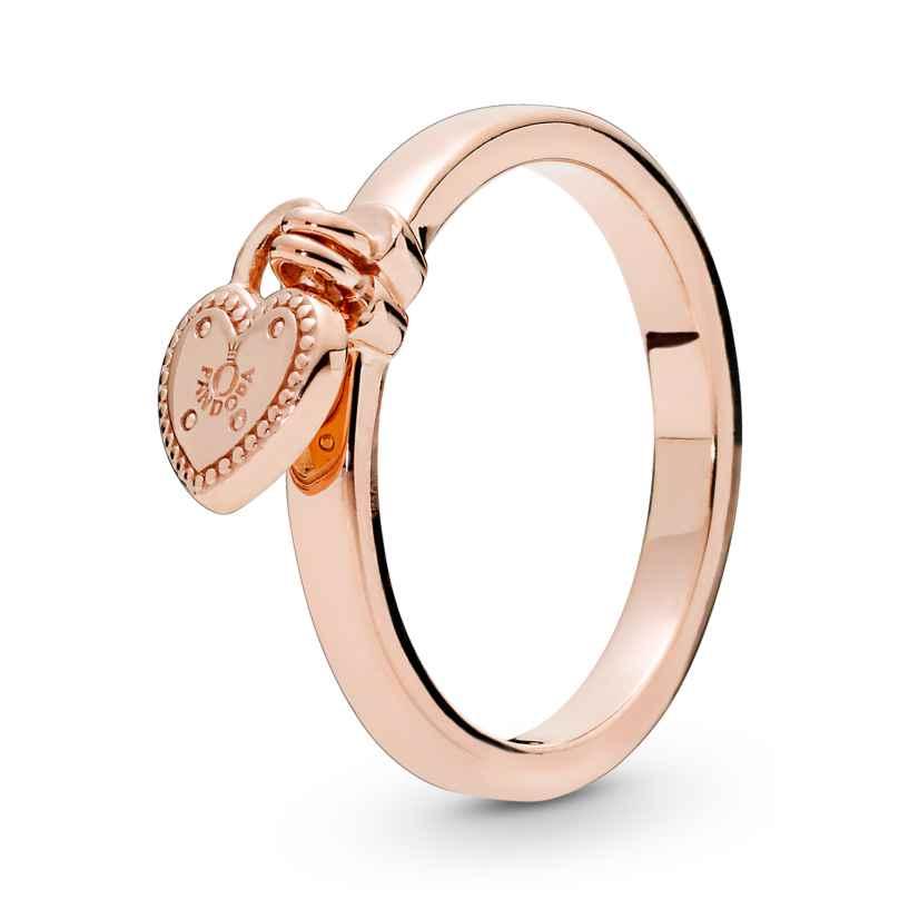 Pandora 186571 Rose Ladies´ Ring Love Lock