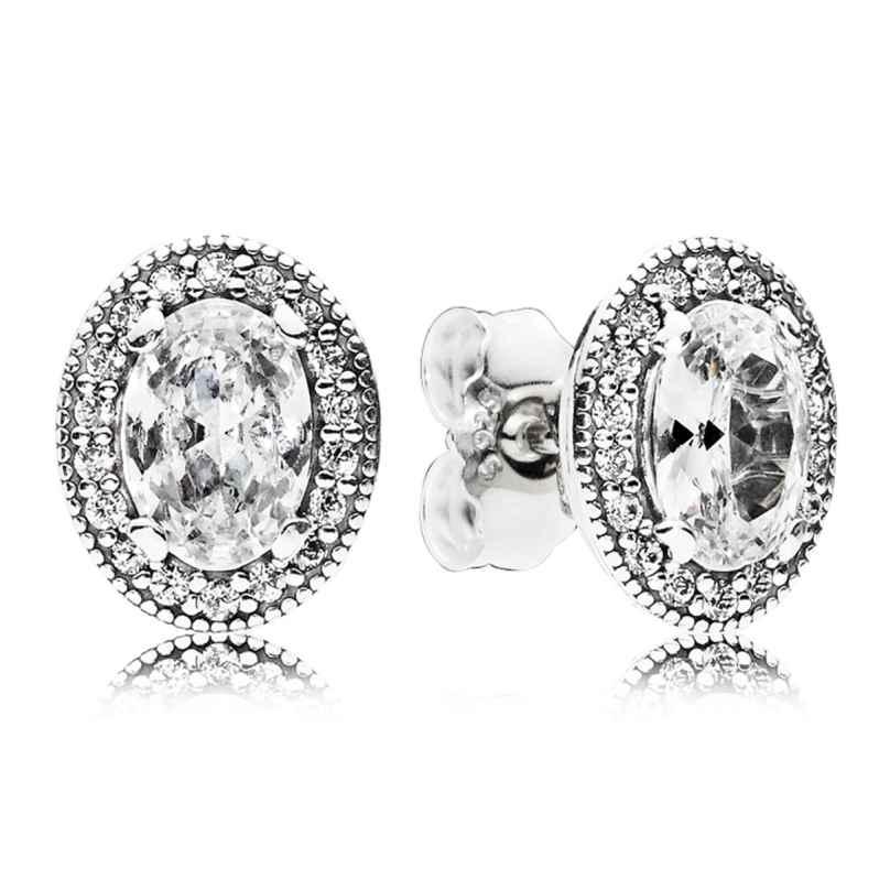 Pandora 296247CZ Damen-Ohrringe Vintage Eleganz 5700302591248