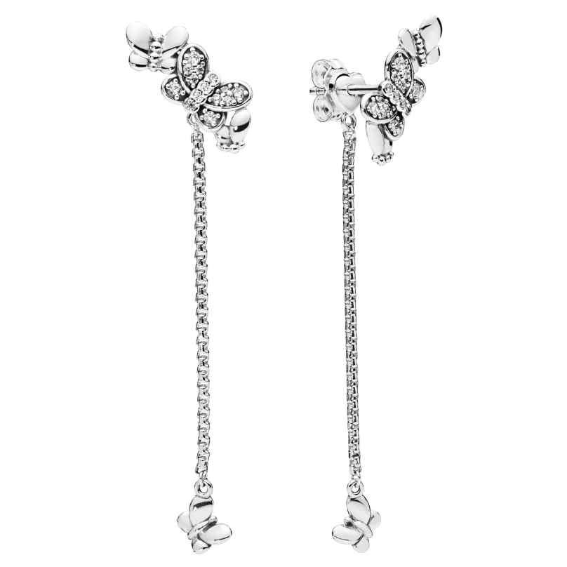 Pandora 297964CZ Ladies' Earrings Bedazzling Butterflies 5700302764697