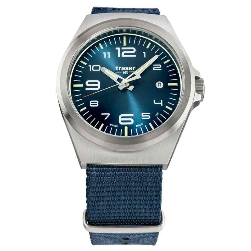 traser H3 108216 Herrenuhr P59 Essential M Blau 7630027703863