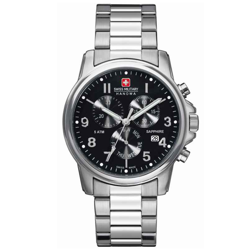 Swiss Military Hanowa 06-5233.04.007 Soldier Chrono Prime Mens Watch 7612657083942