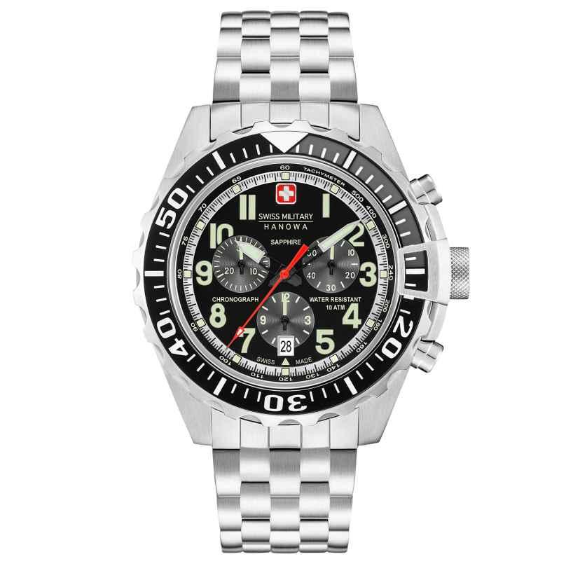 Swiss Military Hanowa 06-5304.04.007 Herrenuhr Touchdown Chrono 7612657093583