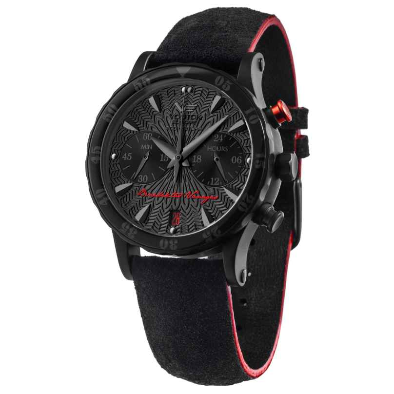 Vostok Europe VK64-515C395 Damenuhr Benediktas Vanagas Lady Black Edition 4260157447769