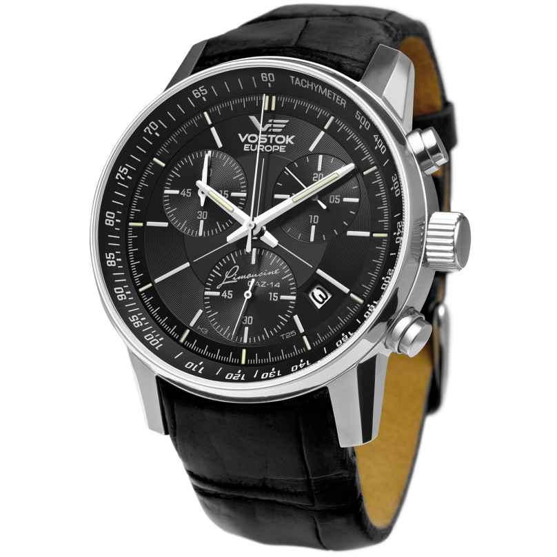 Vostok Europe 5651174 GAZ 14 Gran Chrono Herrenuhr 4260157446403