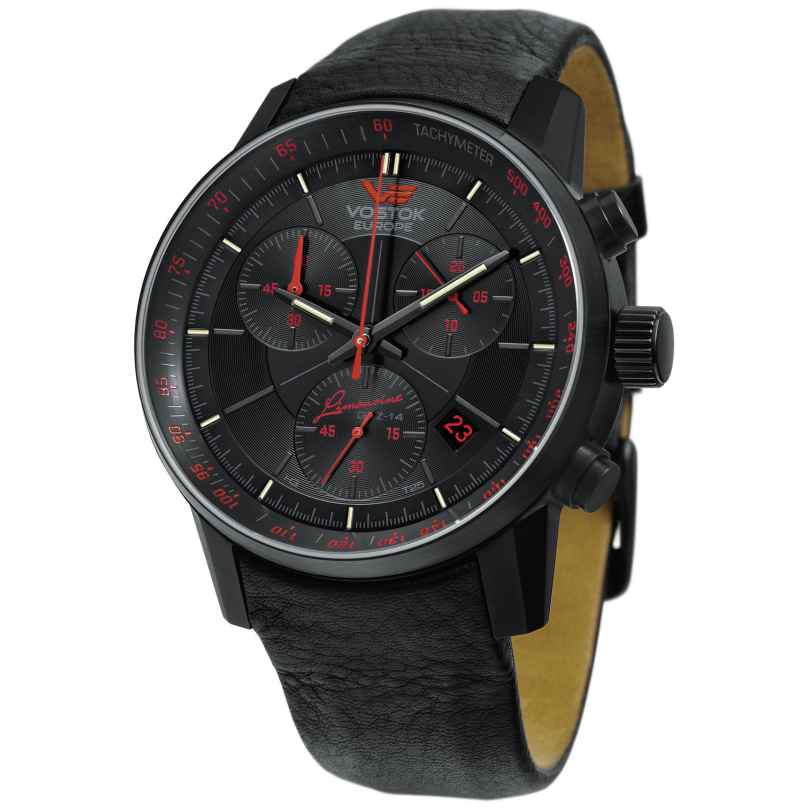 Vostok Europe 5654176 GAZ 14 Gran Chrono Herren-Armbanduhr 4260157446427