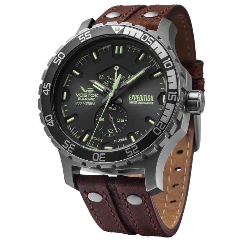Vostok Europe YN84-597A543 Automatik-Herrenuhr Expedition Everest Underground 4260157448032