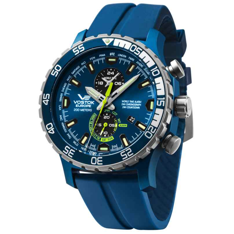Vostok Europe YM8J-597E546 Alarm-Chronograph Expedition Everest Underground 4260157448025