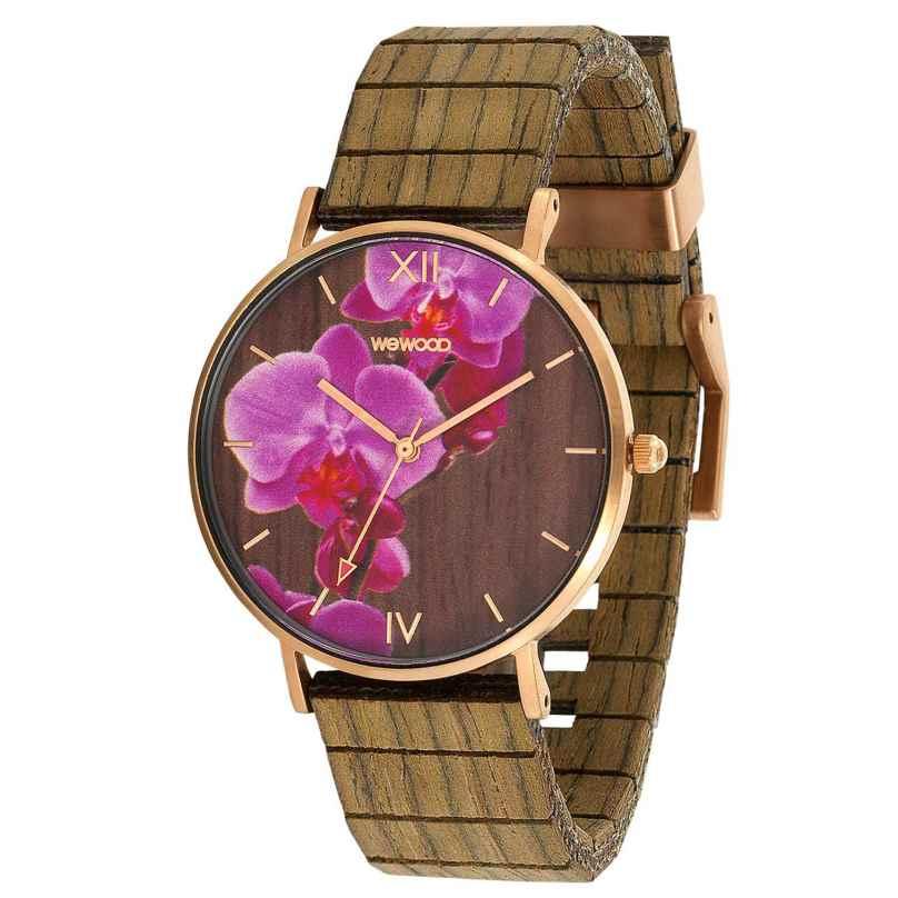 WeWood WW48001 Damenuhr Aurora Flower Nut 0725350508418