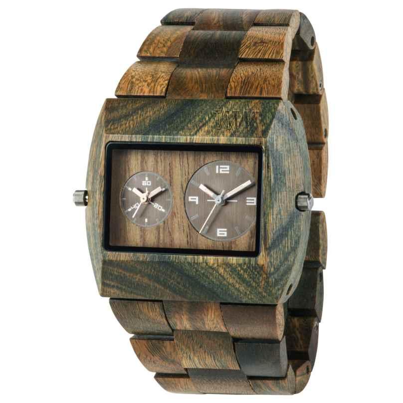WeWood WW02012 Jupiter RS Army Holz-Herrenuhr 0610373988982