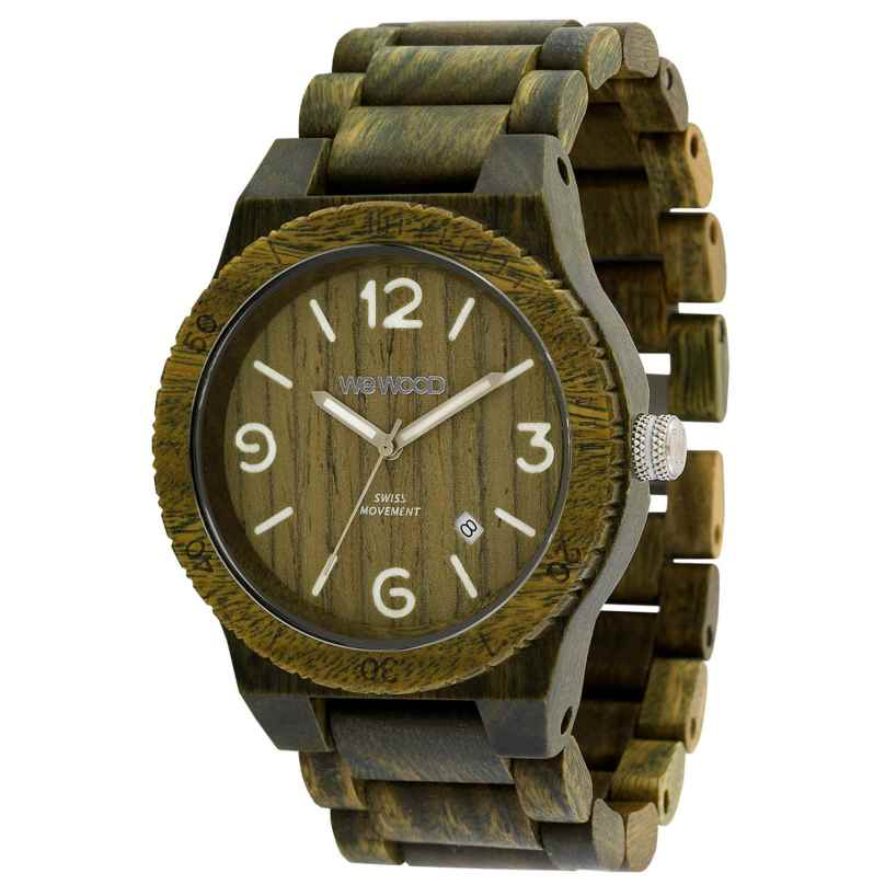 WeWood WW08010 Herrenuhr Alpha SW Army 0725350506650