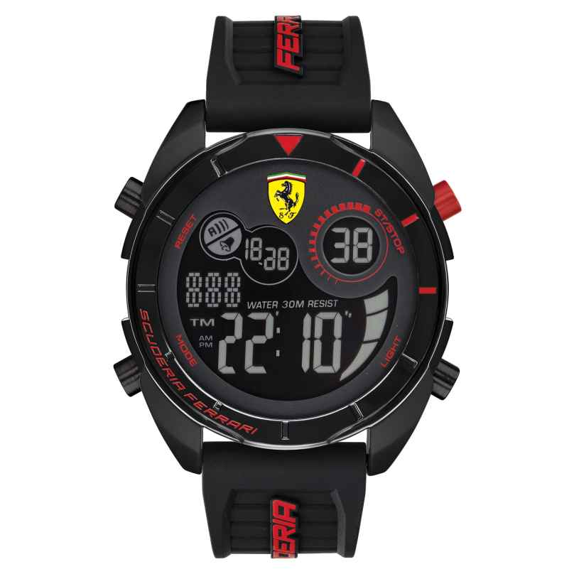 Scuderia Ferrari 0830548 Digital-Herrenuhr Forza 7613272289177