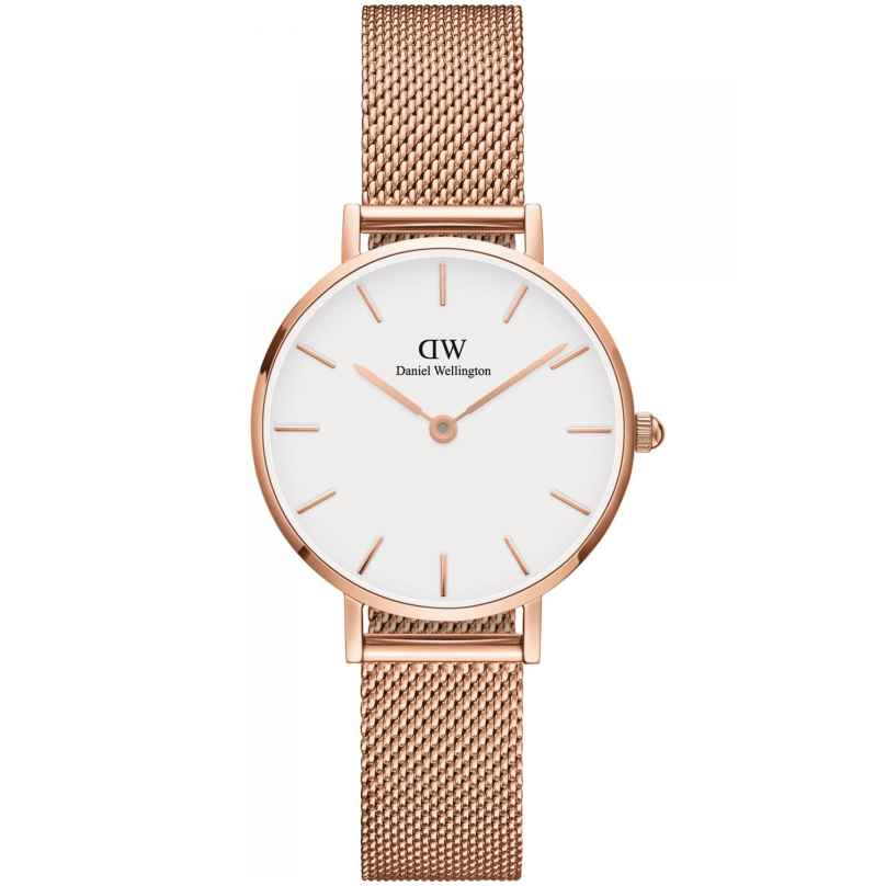 Daniel Wellington DW00100219 Ladies Watch Classic Petite Melrose Rose/White 28 7350068246654