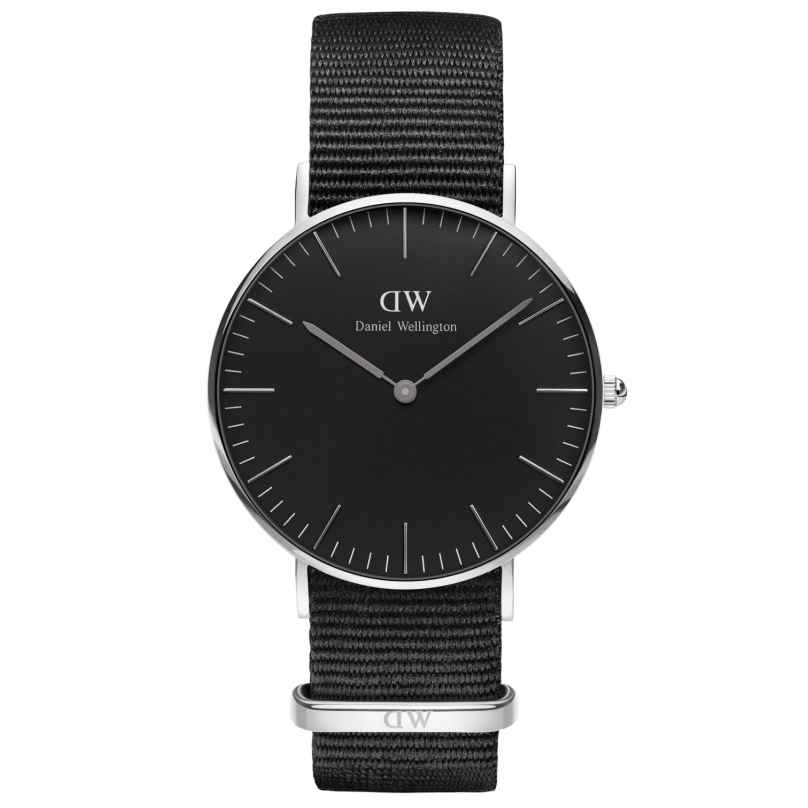 Daniel Wellington DW00100151 Damenuhr Cornwall Silber 36 mm 7350068244803