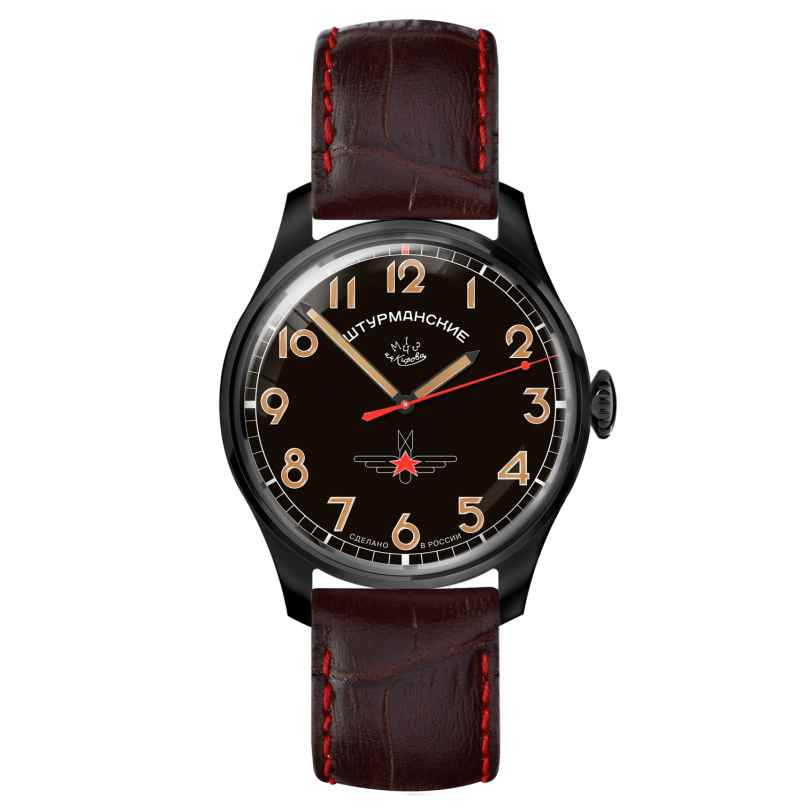 Sturmanskie 2609-3714129 Retro Gagarin Herrenuhr Handaufzug 4260157447578