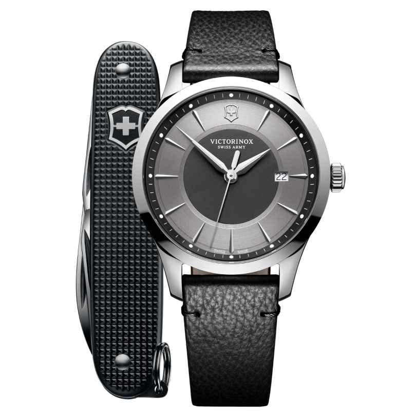 Victorinox 241804.1 Herrenarmbanduhr und Taschenmesser Alliance 7630000733122