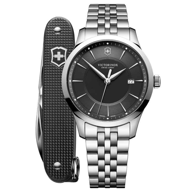 Victorinox 241801.1 Herren-Uhr und Taschenmesser Alliance 7630000733290