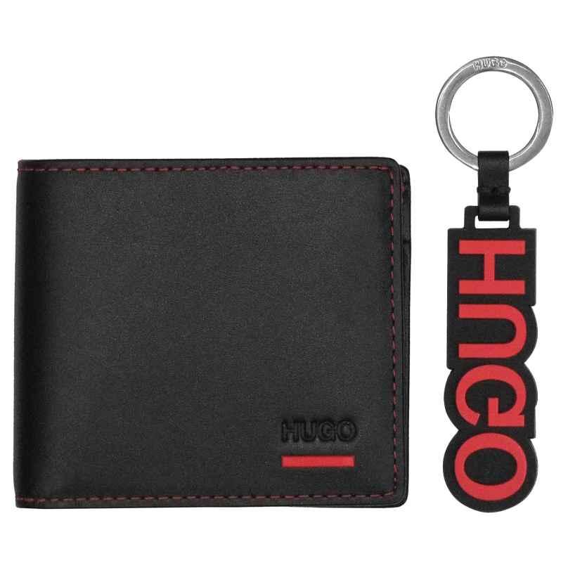 Hugo 50403061 Geschenkset Herren-Geldbörse Schwarz 4029049346104