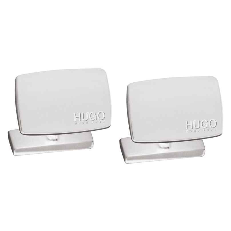 Hugo 50316380 E-Liberty Cufflinks Silver 4044228100933