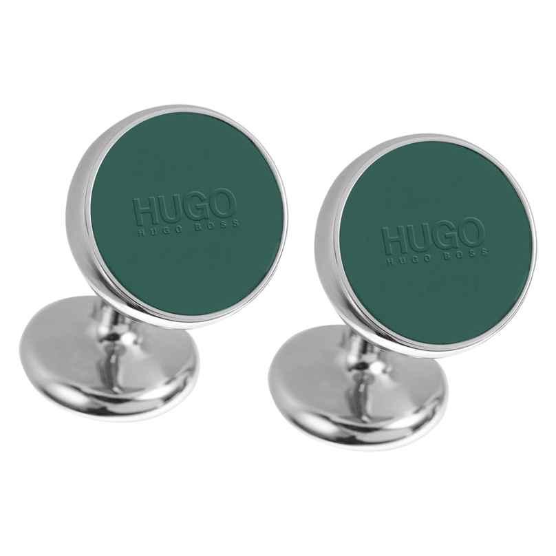 Hugo 50323059 E-Color Manschetten-Knöpfe Grün 4021419256051