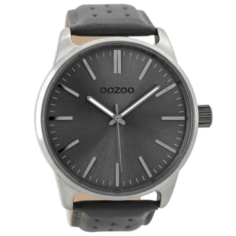 OOZOO Mens Watch Grey 48 mm C9423 • uhrcenter Watches Shop c32cafeee8c