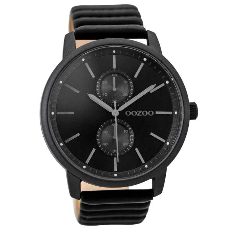 OOZOO Mens Watch Black 45 mm C9454 • uhrcenter Watches Shop 41a65f43d08