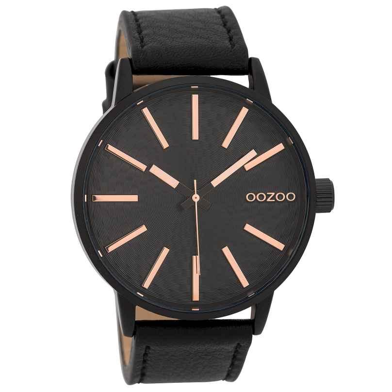 Oozoo C9609 Herrenuhr 45 mm Design-Zifferblatt Schwarz 8719929005660
