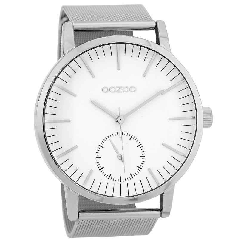 Oozoo C9620 Herren-Armbanduhr 48 mm Weiß/Silberfarben 8719929005776
