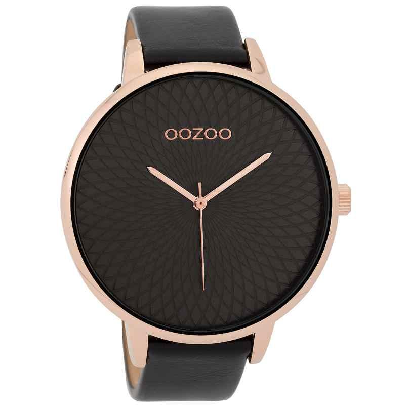 Oozoo C9729 XL Damenuhr Schwarz 48 mm 8719929006865
