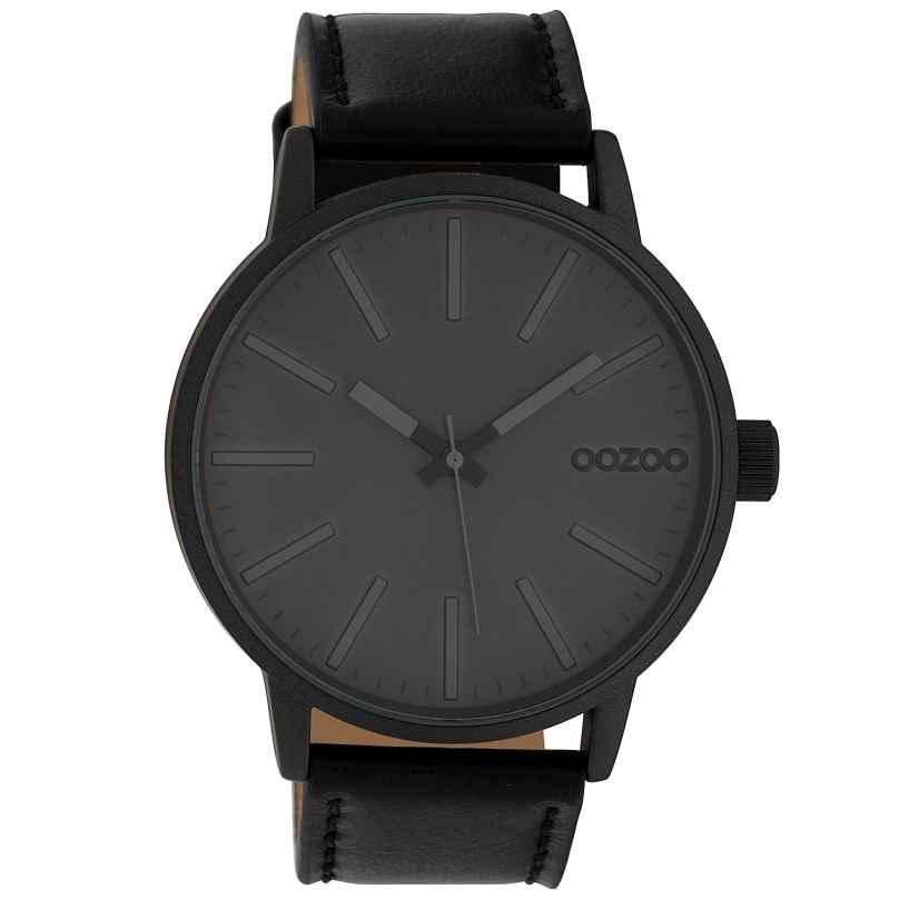 Oozoo C10014 Armbanduhr Grau/Schwarz 45 mm 8719929010350