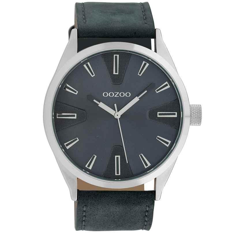 Oozoo C10023 Armbanduhr in Unisex-Größe Blau 45 mm 8719929010442