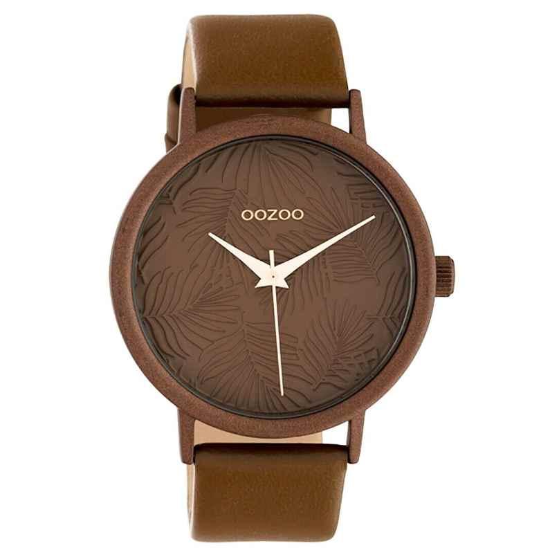 Oozoo C10171 Damenuhr mit Lederband Braun 42 mm 8719929011920