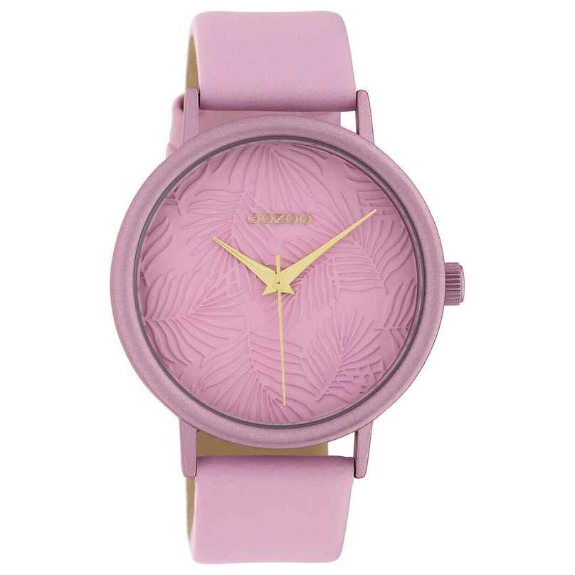 Oozoo C10174 Women's Watch with Leather Strap Pink 8719929011951