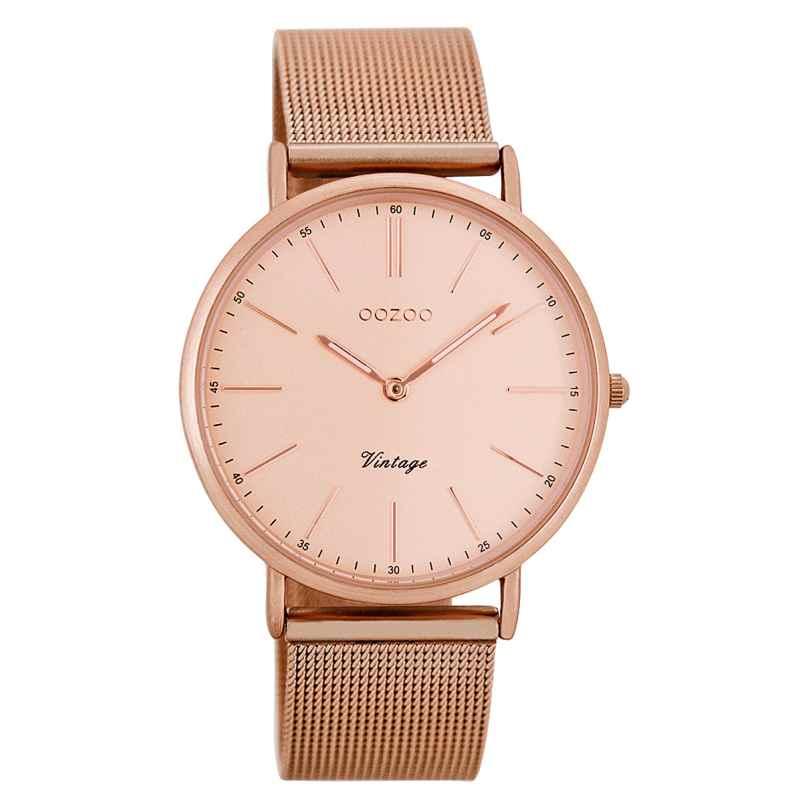 Oozoo C7399 Vintage Damen-Armbanduhr Rosé 36 mm 9879012505763