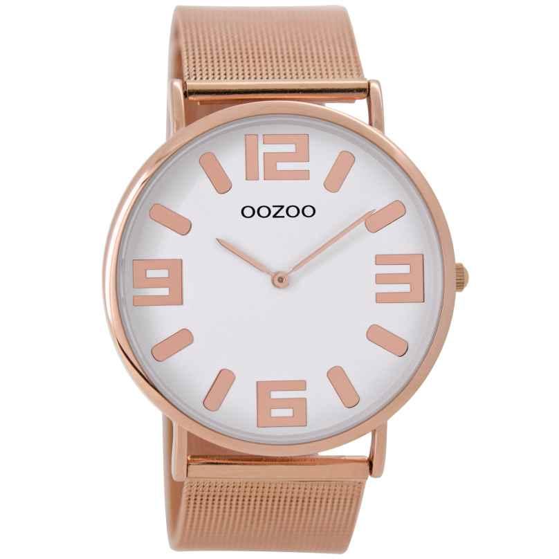 Oozoo C8882 Armbanduhr Rosé/Weiß 42 mm 9879012520131