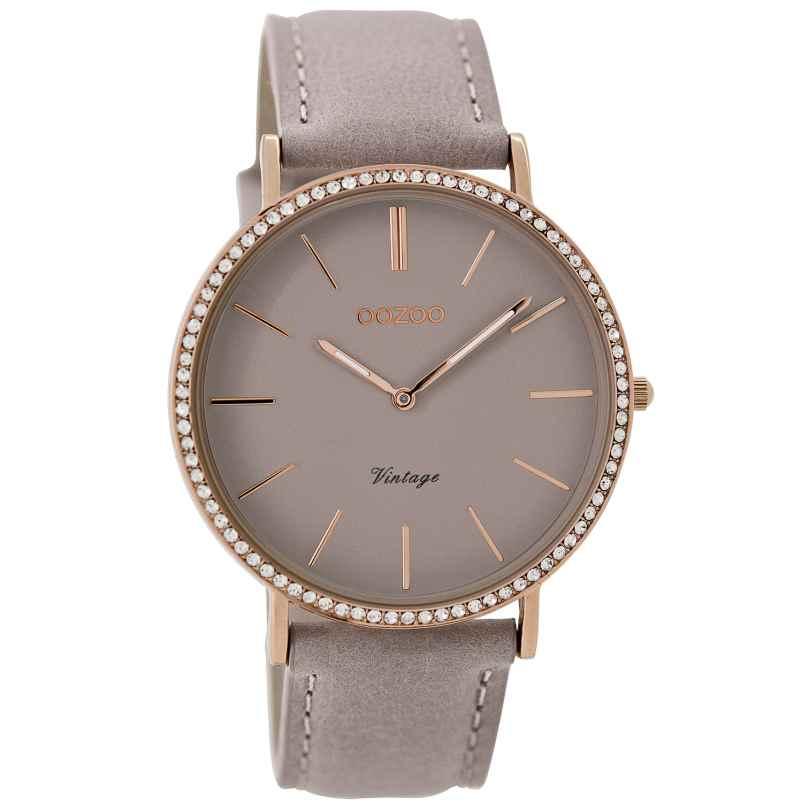 Oozoo C8888 Damen-Armbanduhr Vintage Taupe 40 mm 9879012520193