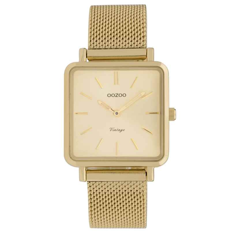 Oozoo C9844 Ladies' Watch Vintage Gold-Tone 8719929008326