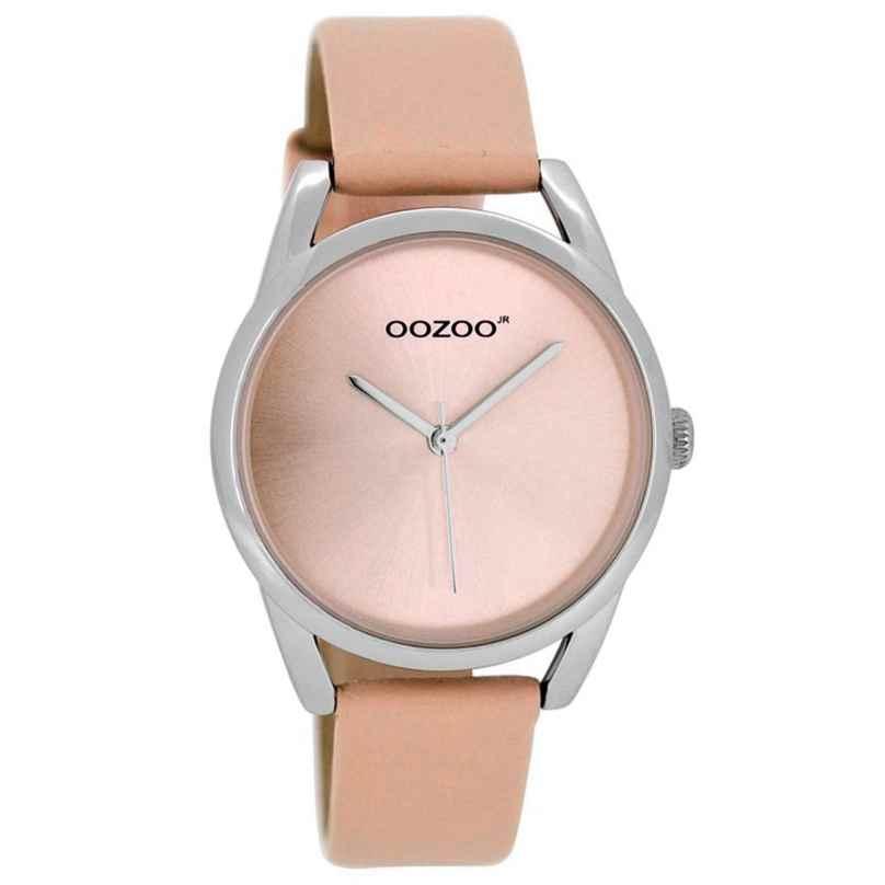 Oozoo JR291 Damenuhr mit Lederband Puderrosa 36 mm 9879012509976