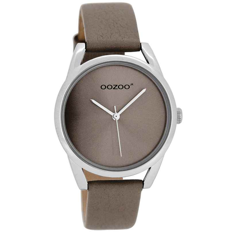 Oozoo JR292 Damenuhr mit Lederband Taupe 36 mm 9879012509983