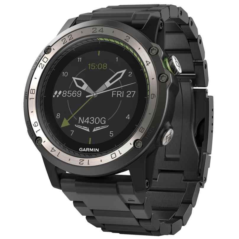 Garmin 010-01733-33 Pilots Watch D2 Charlie GPS Titanium 0753759187996
