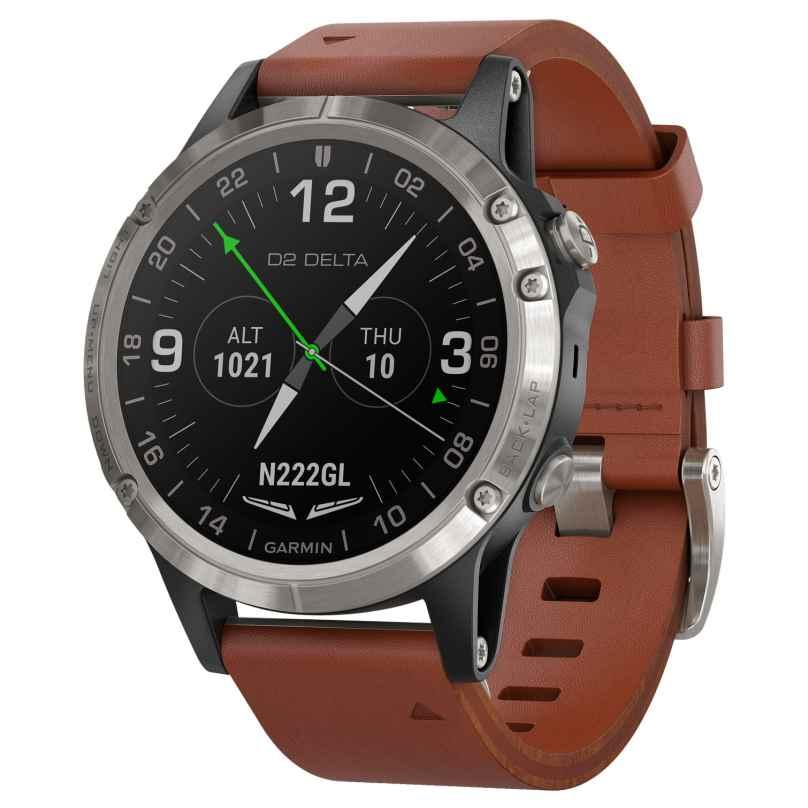 Garmin 010-01988-31 D2 Delta GPS-Pilotenuhr Smartwatch 0753759219994