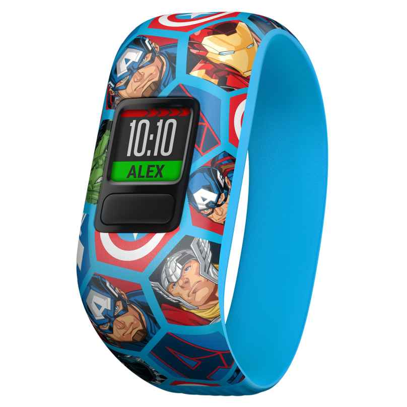 Garmin 010-01909-02 vivofit jr. 2 Marvel Avengers Fitness-Tracker für Kinder 0753759187002