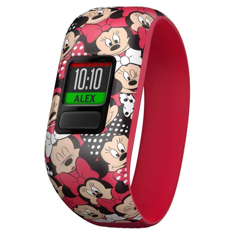 Garmin 010-01909-00 vivofit jr. 2 Minnie Maus Aktivitäts-Tracker für Kinder 0753759186982