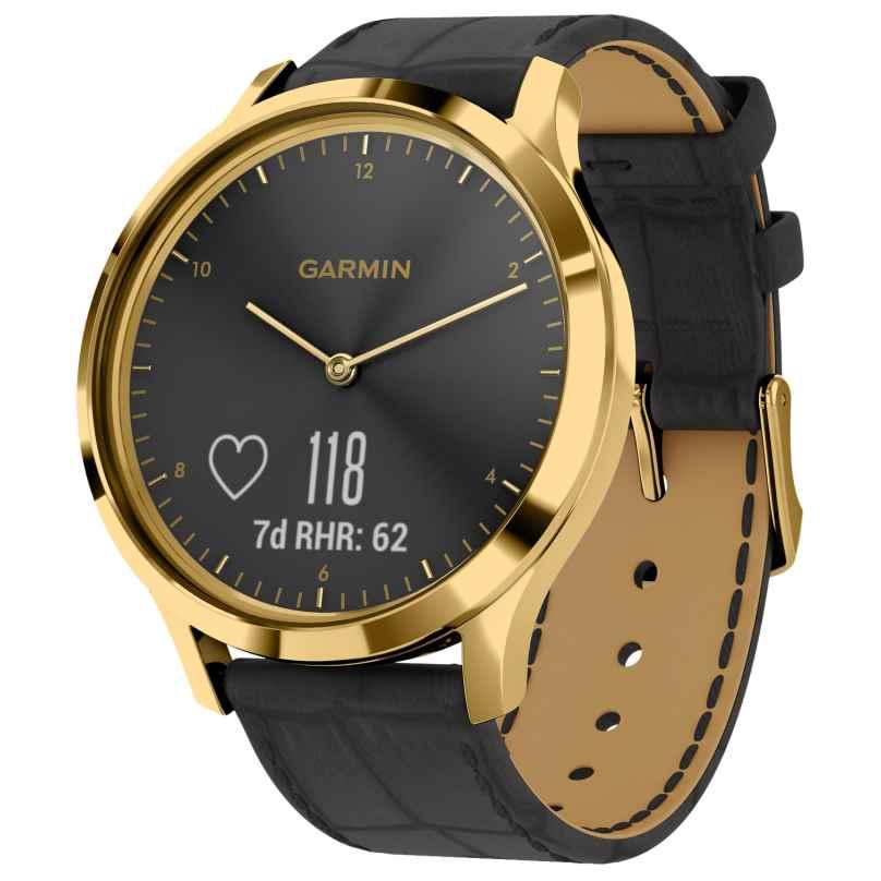Garmin 010-01850-AC vivomove® HR Premium Fitness-Tracker Smartwatch Schwarz 0753759229023