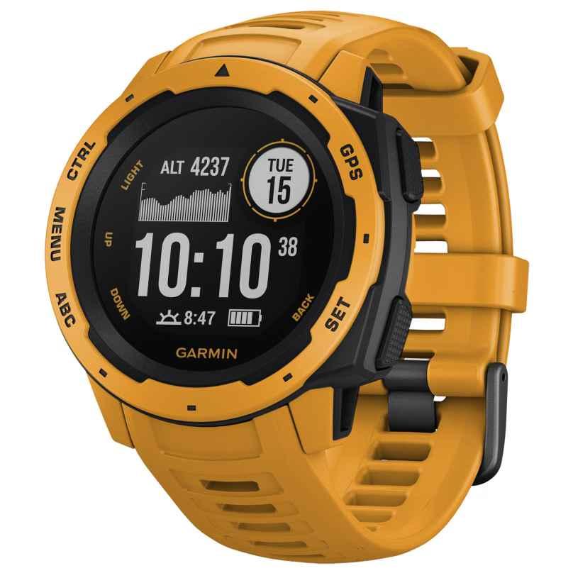 Garmin 010-02064-03 Instinct Outdoor Smartwatch Yellow/Slate Grey 0753759228620