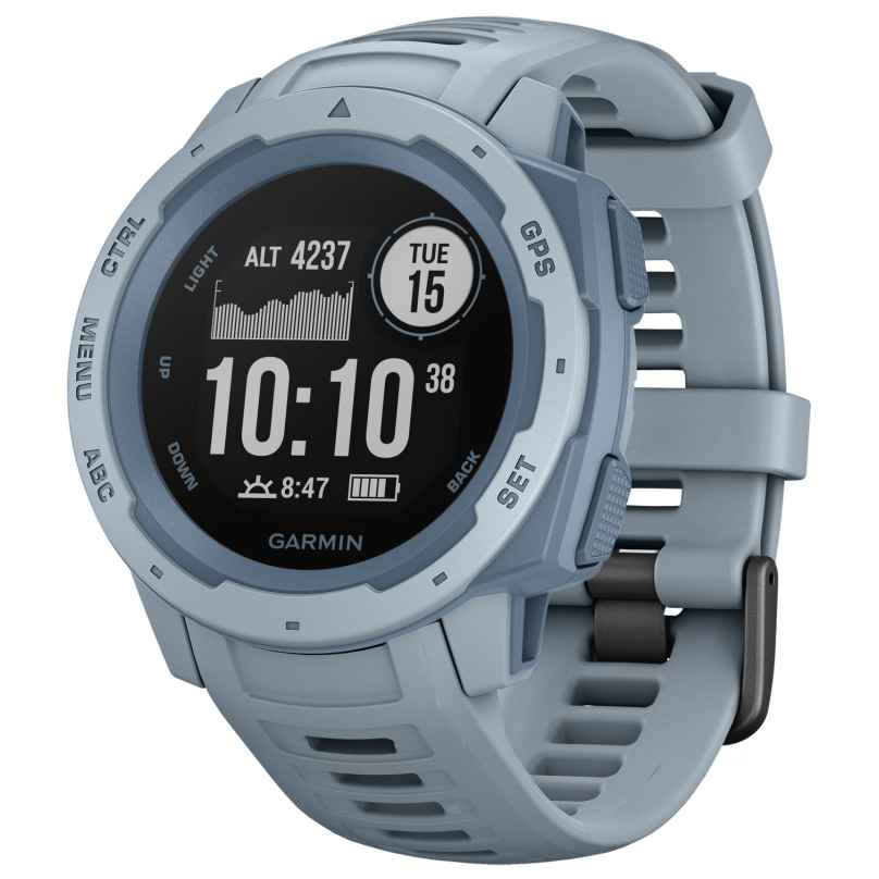 Garmin 010-02064-05 Instinct Outdoor-Smartwatch Hellblau 0753759228644
