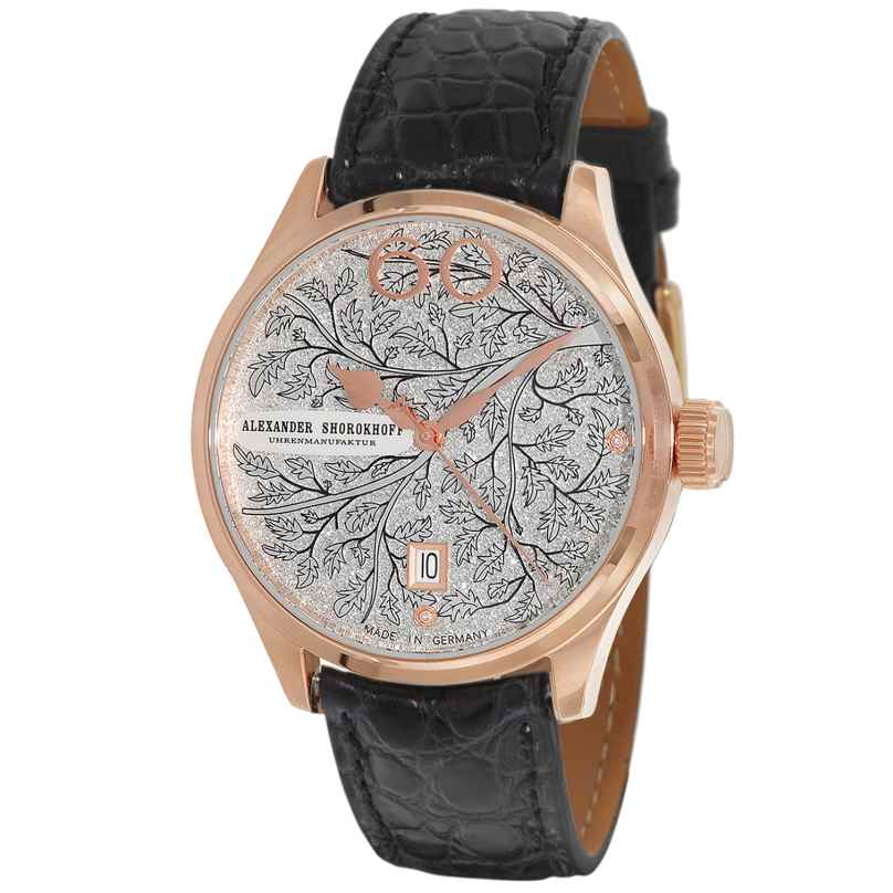 Alexander Shorokhoff AS.LA-WIN-10B Ladies' Automatic Watch Winter Black 4260479160940