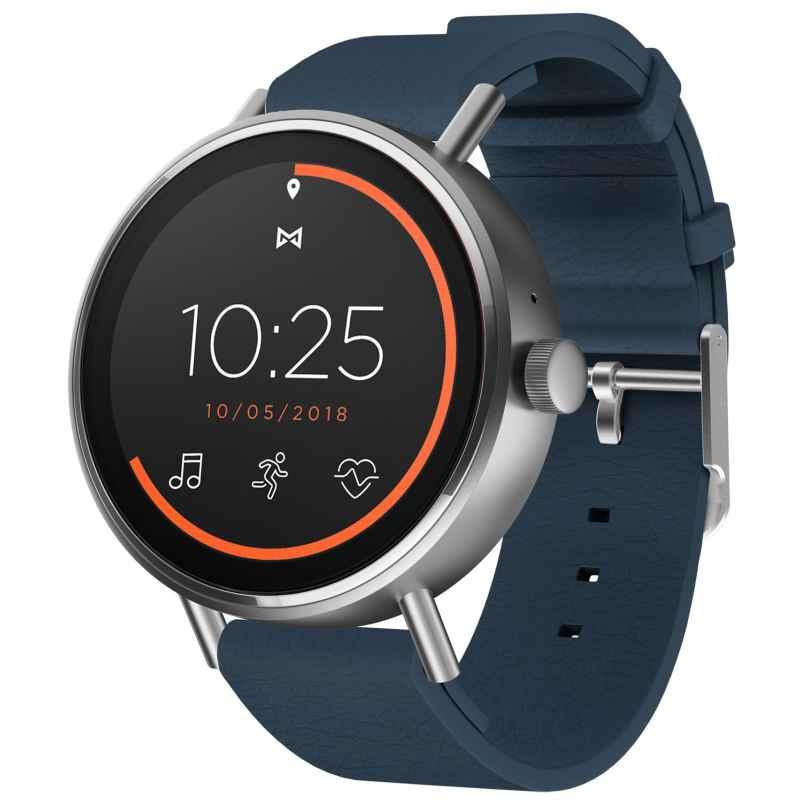 Misfit MIS7201 Vapor 2 Herren-Smartwatch 46 mm Blau 4013496070149