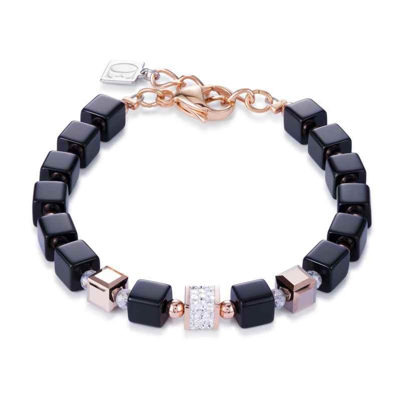 Coeur de Lion 4929/30-1800 Damenarmband Schwarz/Rosé 4250409699145