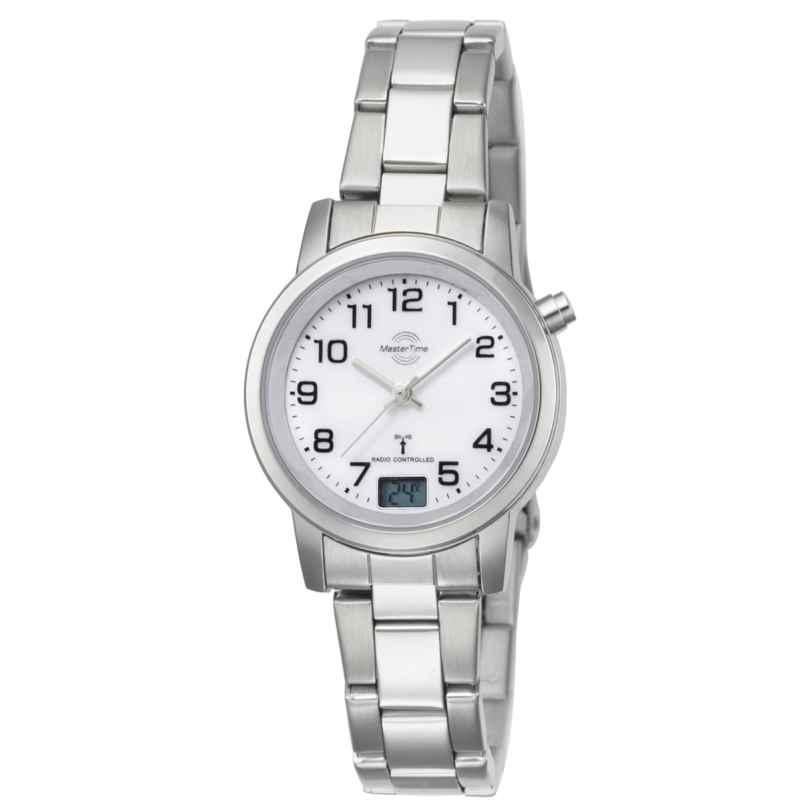 Master Time MTLA-10301-12M Damen-Funkuhr Basic Classic 4260411150015