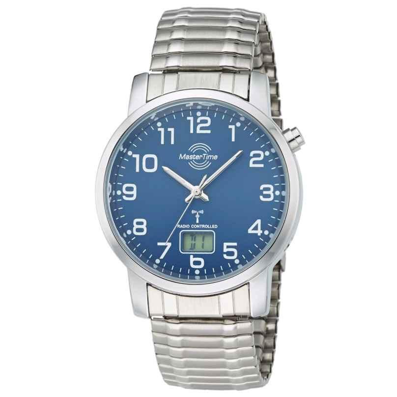 Master Time MTGA-10489-32M Herren-Funkuhr mit Zugband 4260411153320